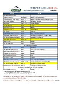 Tooele County School District Calendar 2021 pdf