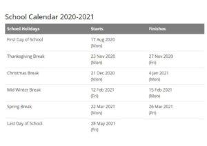 Magnolia School District Calendar 2021 pdf