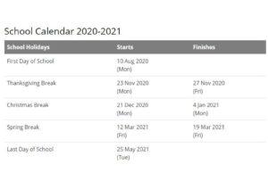Orange County School District Calendar 2021 pdf