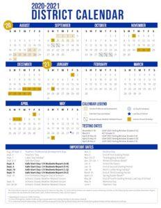 Picayune School District Calendar 2021