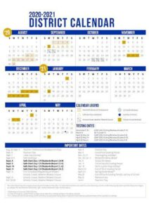 Picayune School District Calendar 2021 pdf