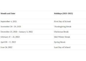 Rochester School District Calendar pdf