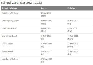 Hickory Public Schools Calendar pdf