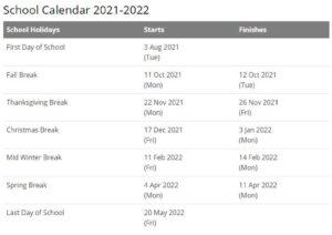 Burke County Public Schools Calendar pdf