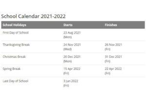 Burke County School Calendar pdf