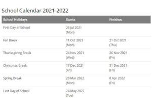 Perry Township Schools Calendar pdf