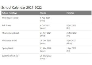 Peru Community Schools Calendar pdf