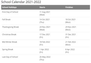 South Bend Community Schools Calendar