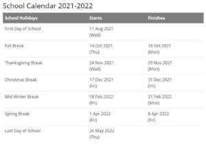 South Bend Community School Calendar pdf