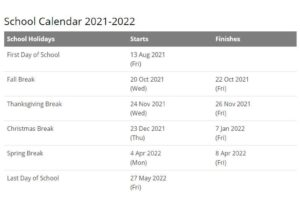 Warsaw Community Schools Calendar pdf